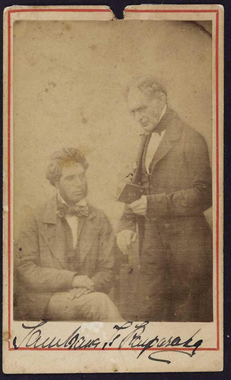 Tamihana Te Rauparaha - photograph ca. 1860